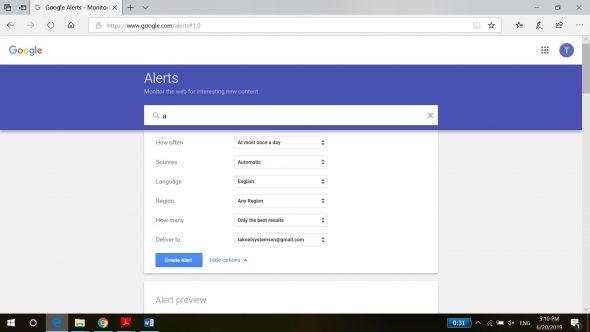 Sử dụng Google Alerts để tìm kiếm khách hàng và theo dõi đối thủ cạnh tranh