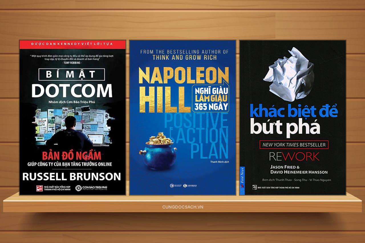 Những cuốn sách kinh doanh hay nhất nên đọc để thành công