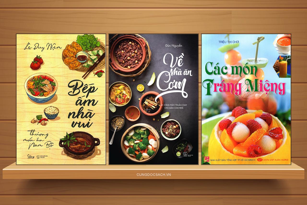 Top 10 cuốn sách dạy nấu ăn hay dành cho những bà nội trợ