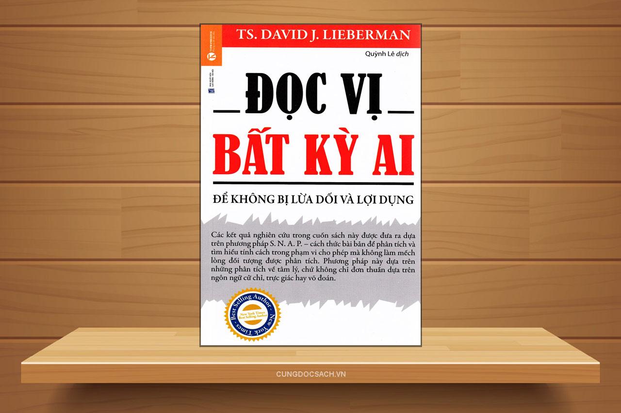 Tóm tắt & Review sách Đọc vị bất kỳ ai – David J. Lieberman