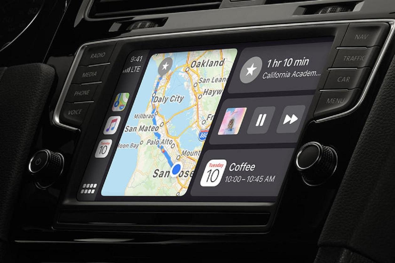 Kết nối Apple Carplay trên xe ô tô